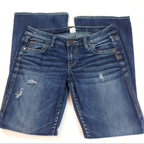 Silver Jeans Denim - Silver Jeans Eden Bootcut Stretch 28x31-DK05
